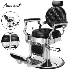 Artist Hand Retro Barber Chair Heavy Duty Barber Chairs